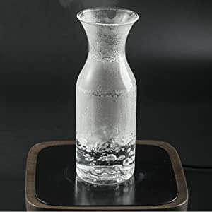 Karafu glass water carafe pitcher jug kettle