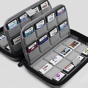 nintendo 3ds 2ds ds game card carts cartridge holder storage case
