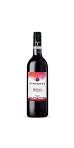 【ノンアルコール ワイン】ヴィンテンス(Vintense)カベルネ・ソーヴィニョン(赤)750ml【1本】