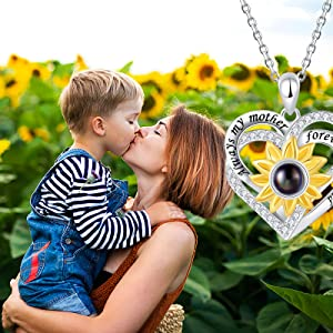 mother necklace for women