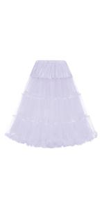 white underskirt