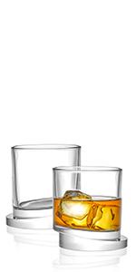 Round Whiskey Glasses