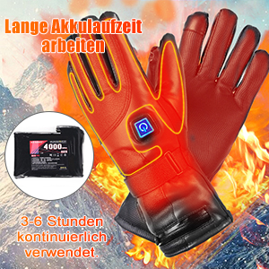 Beheizte Handschuhe für Herren