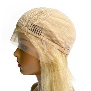 blonde cap