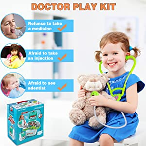 Toy Medical kit for role play