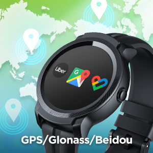 Built-in GPS with 3 Satellite Systems
