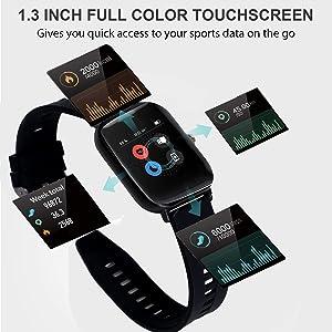 1.68 inch full screen smart sports watch