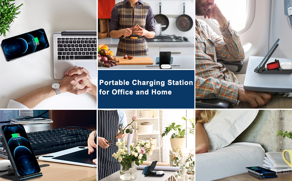 Portable Charging Station for Office and Home