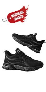 womens black tennis shoes