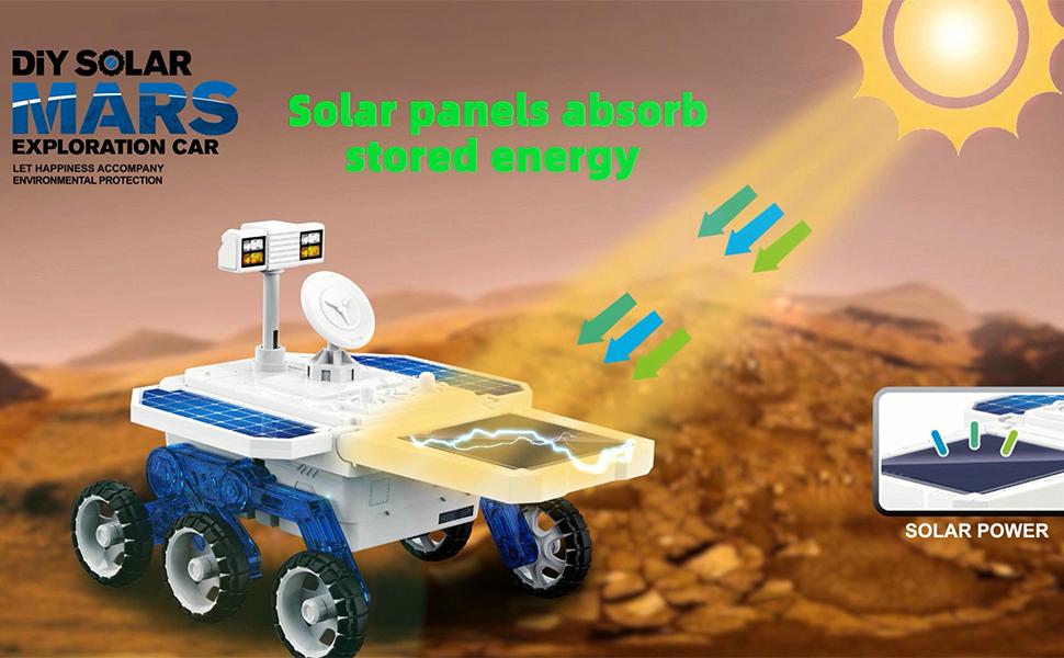 Solar Powered Science Kit Toys