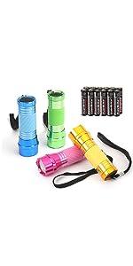 Everbrite 4-Pack Mini Aluminum LED Flashlight