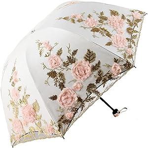 beige lace umbrella