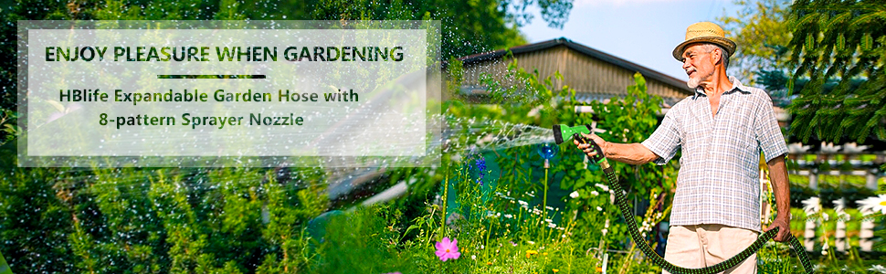 HBlife Expandable Garden Hose