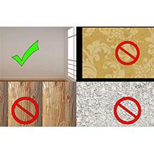 wall surfaces