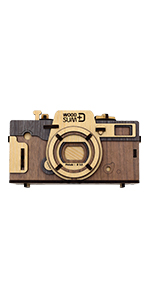 Pinhole camera retro Brown