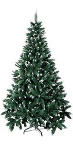 7ft Flock Christmas Tree