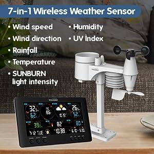 7-in-1 Outdoor Weather Sensor