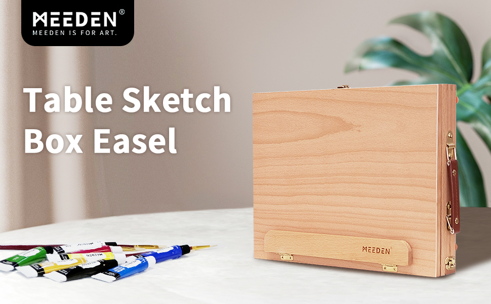 solid beech wood Portable,Foldable, Good-quality, perfect size, little easel