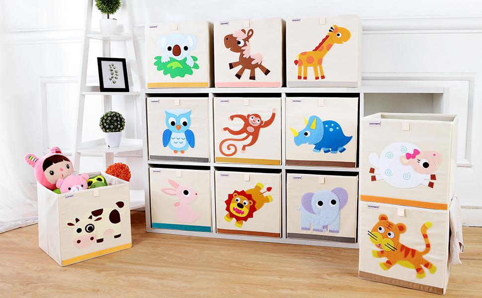 13inch animal storage bins cubes boxes