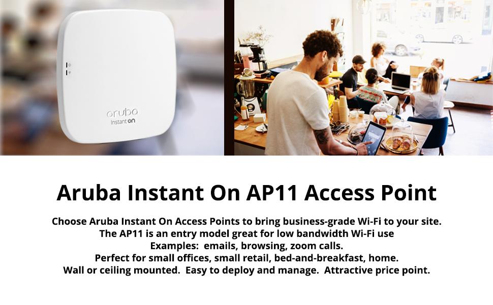 Aruba Instant On AP11 Wireless Access Point