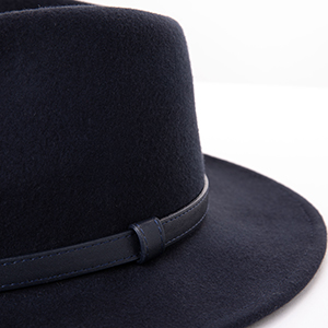 2 Size Men Women Wool Trilby Fedora Hat Wide Brim Dad Panama Jazz Hat  M L XXL