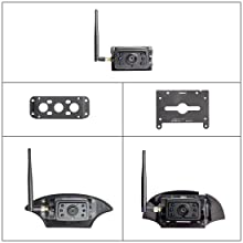 Backup Camera Bracket Adapter