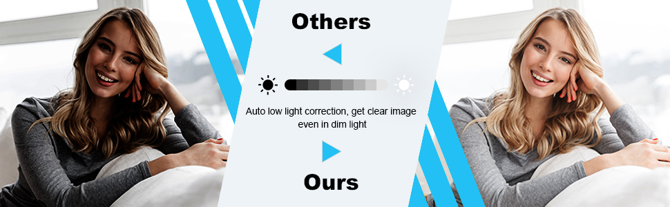 Auto low light correction