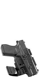 pocket holster hook retention glock 43 subcompact trigger guard custom fit sig p365 small comfort cz