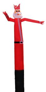 20ft Santa Sky Air Puppet Dancer Inflatable Arm Flailing Tube Man Wacky Wavy Wind Flying Dancing Man