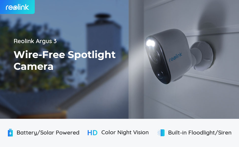 spotlight outdoor security camera