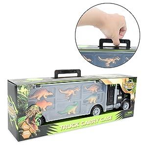 dinosaur carrier transport truck