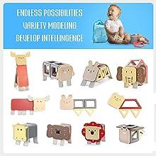 regalos magnéticos del juguete del juego de los niños