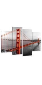 NYC Landmarks canvas Wall art california picture, art framed, beautiful art