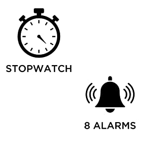 Ivation clock Alarms, Timer & Stopwatch