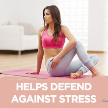Helps defend against stress