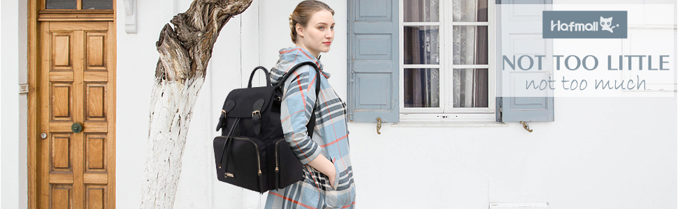 Hafmall Nappy Changing Backpack