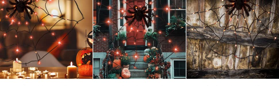 Spider Web String Light