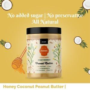 Honey Coconut Peanut Butter