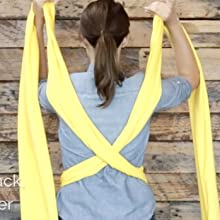 How to Tie Baby Wrap Carrier Sling
