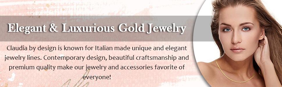 Elegant amp; Luxury golden Jewelry Collection