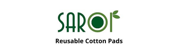Reusable cotton pads, Cotton wipes, Makeup remover pads