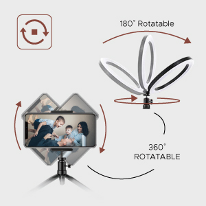 Multi-angle rotation