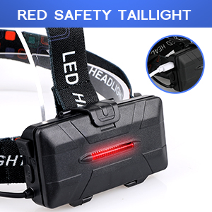 red safety taillight