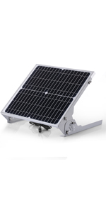 20w solar panel with mppt charge controller