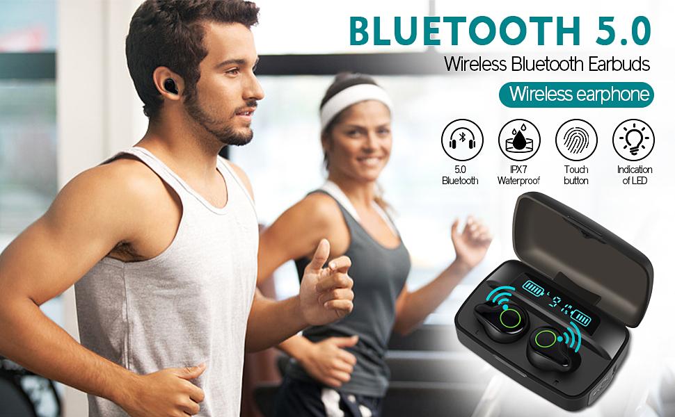 waterproof wireless earbuds