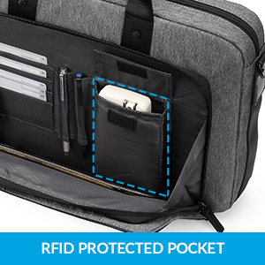 RFID Protected pocket