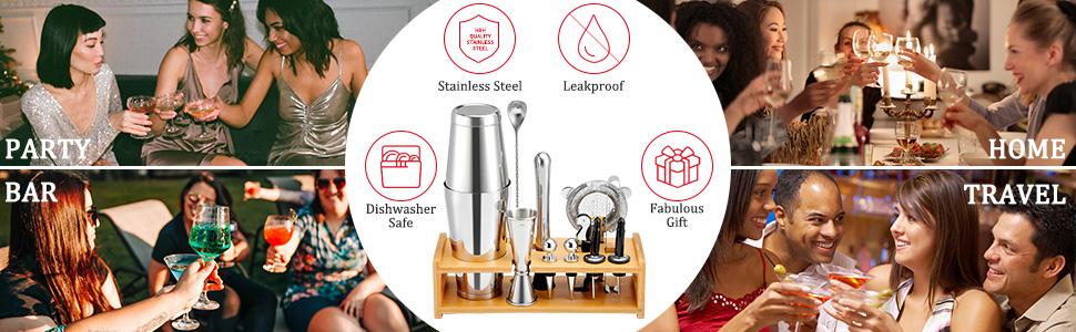 Cocktail shaker set-3