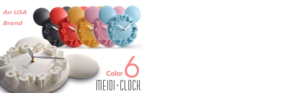6 colors: black, white, red, pink, blue, yellow.