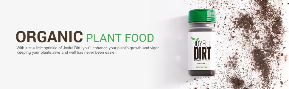 Organic Indoor Plant Food