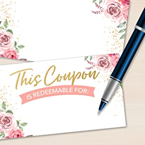 blank coupons 100 valentines day coupons gifts small baby custom spa certificates customer business